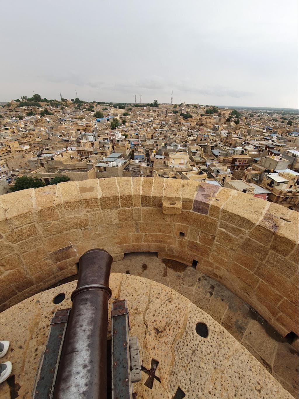 Canon Point in Jaisalmer