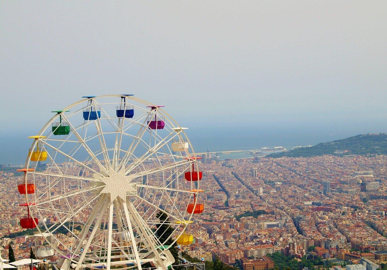 Catalonia ferris wheel