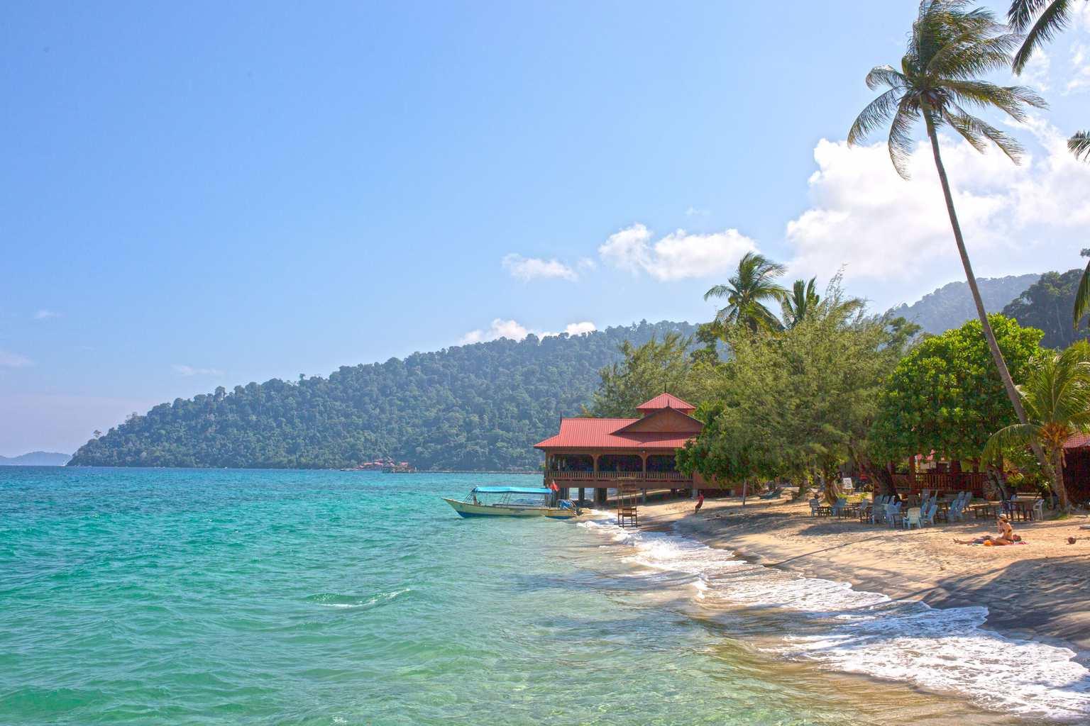 Chilling on Tioman Island