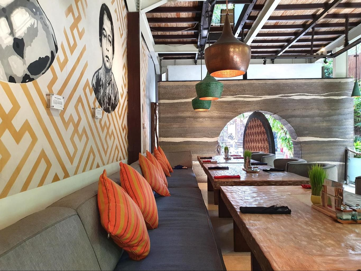 Clear Cafe Ubud interiors