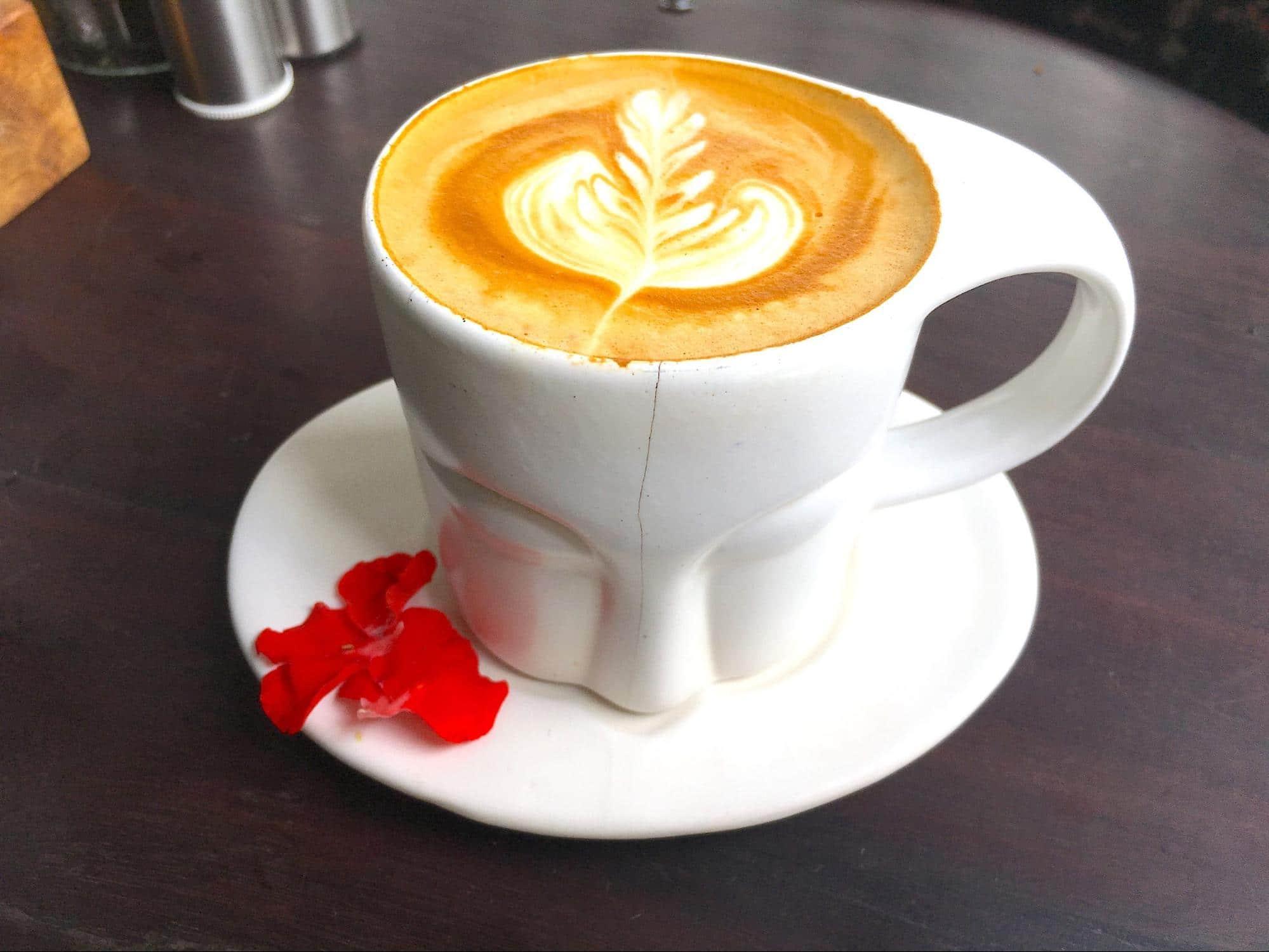 Cutesy mug at Mudra