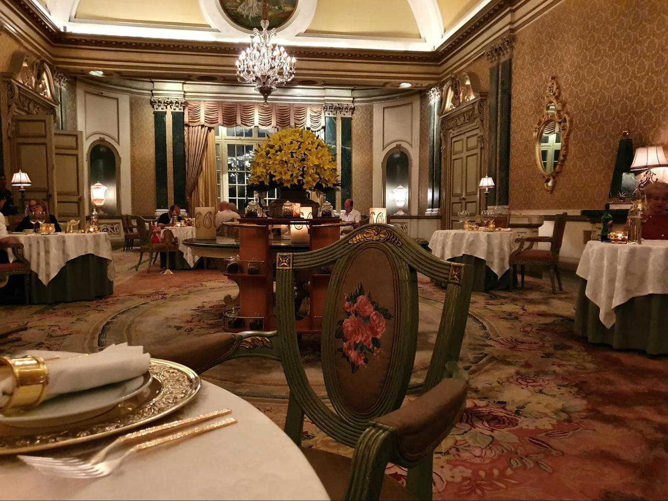 Dinner at Rambagh Palace