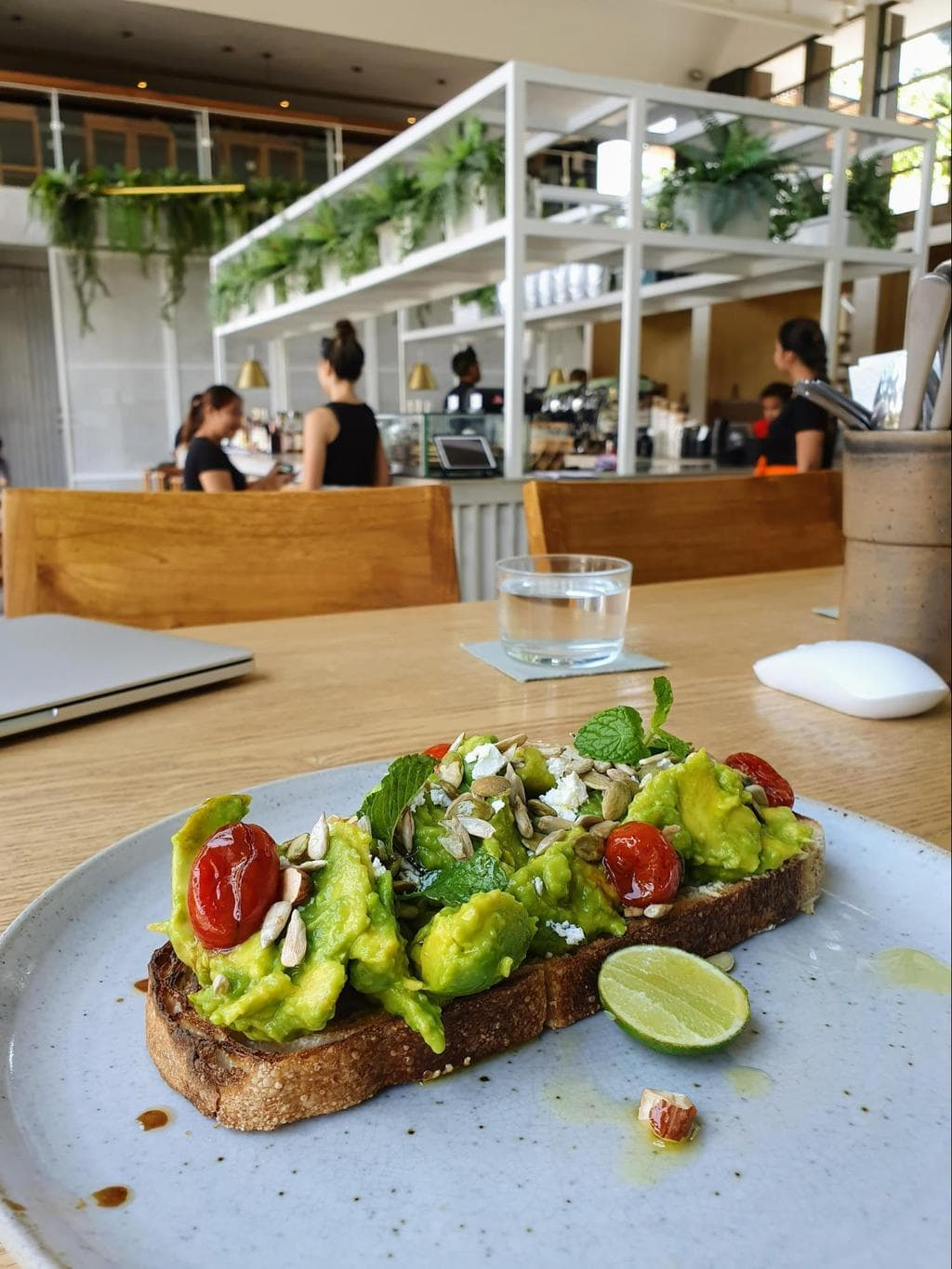 Full Circle Cafe avocado toast