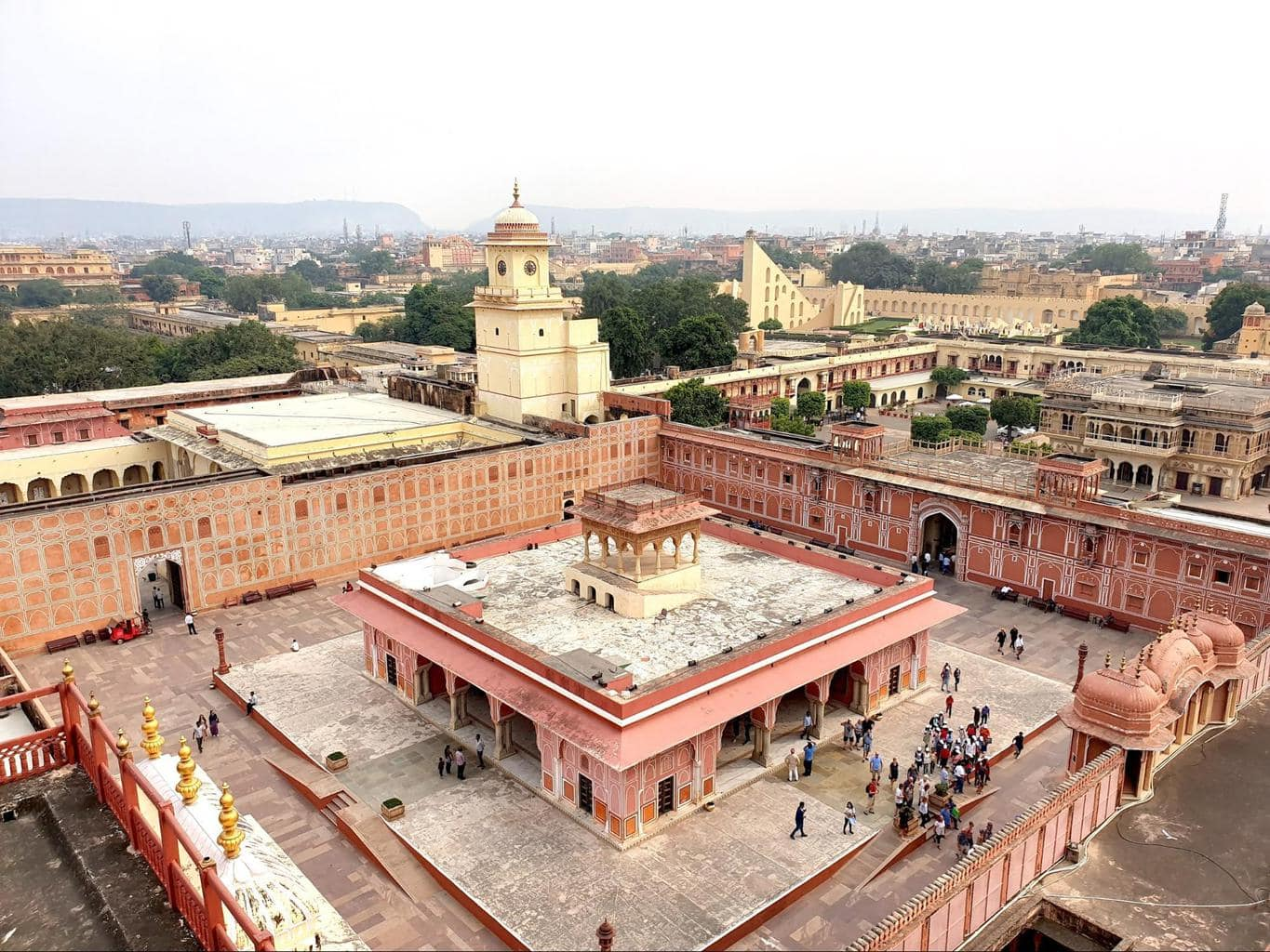 Jaipur City Palace view