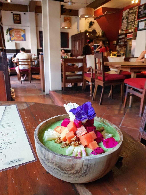 Kafe Ubud smoothie bowl