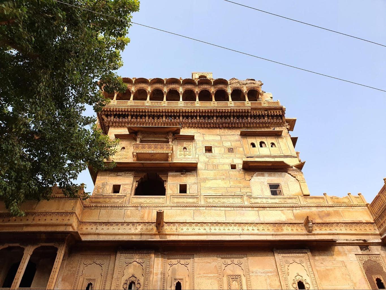 Moti Mahal, aka Salim Singh Haveli in Jaisalmer