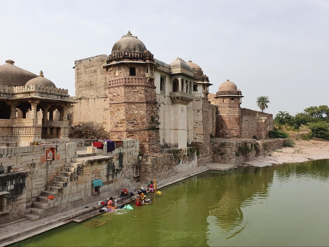 One of the many structures in Chittorgarh Fort