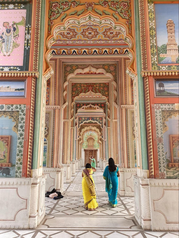 Patrika Gate inside