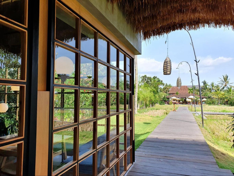 Pison Cafe Ubud backyard