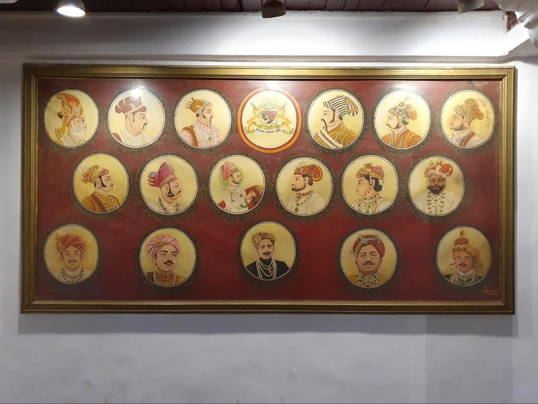 Portraits of Jaisalmer's kings