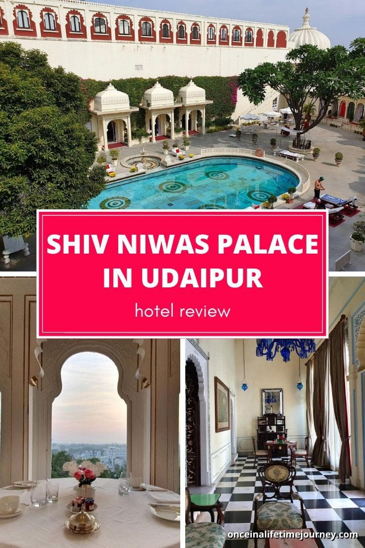 Review of Shiv Niwas Palace Udaipur