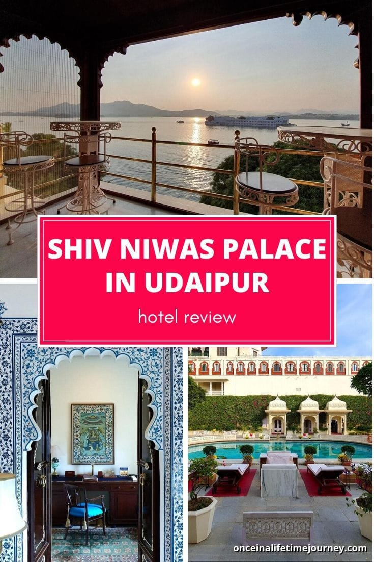 Shiv Niwas Palace Udaipur Review