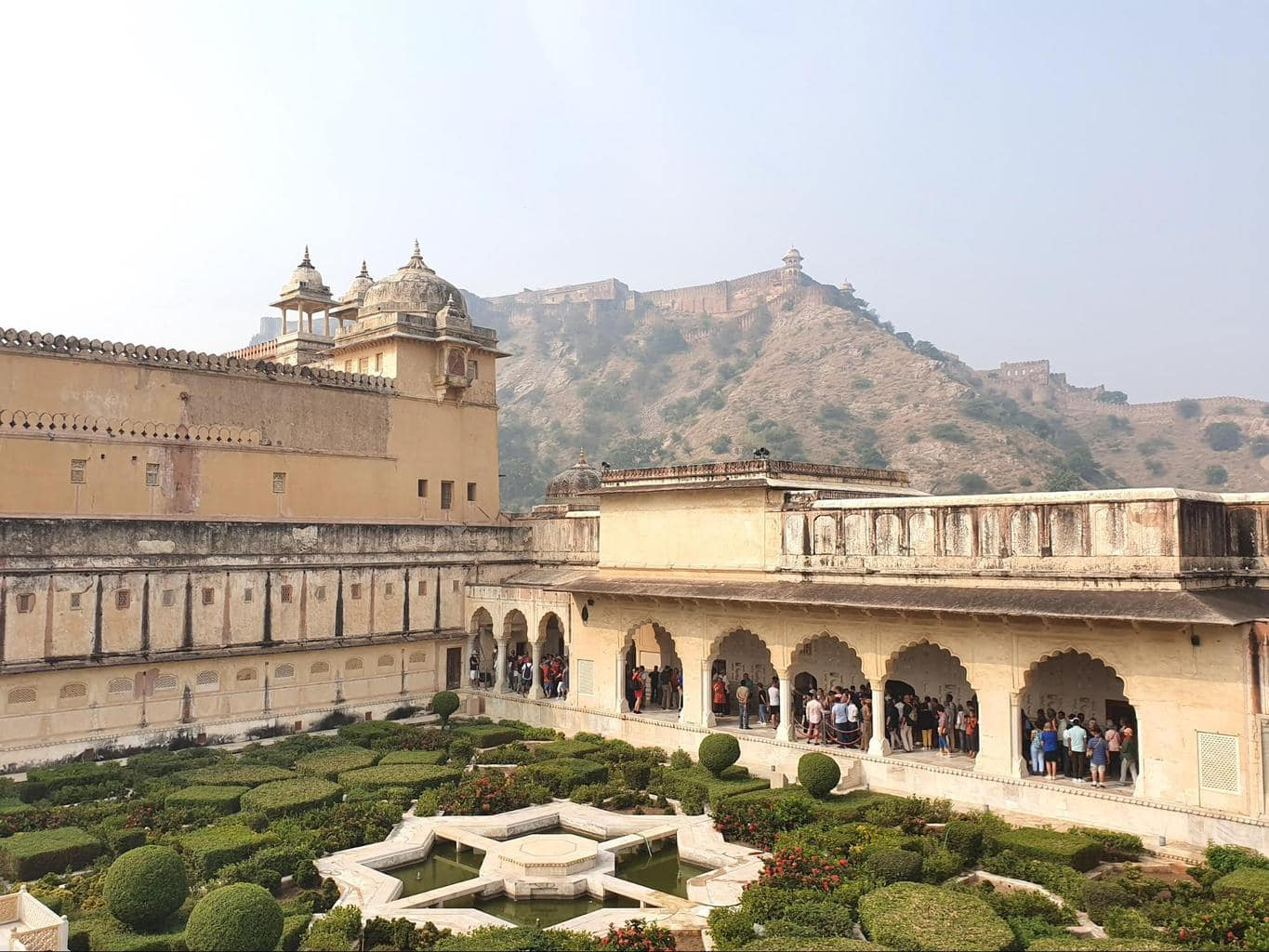 Shuk Niwas, Palace of Pleasure, at Amer Fort