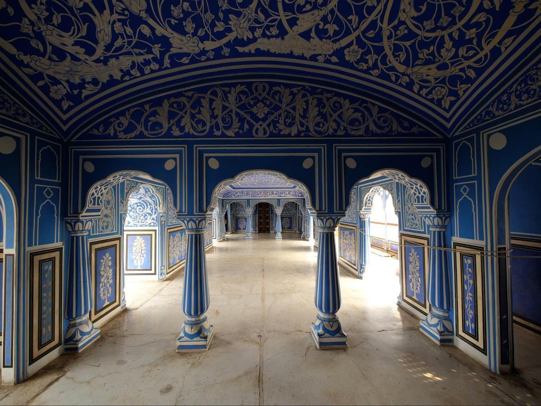 Shuk Niwas at Jaipur's City Palace