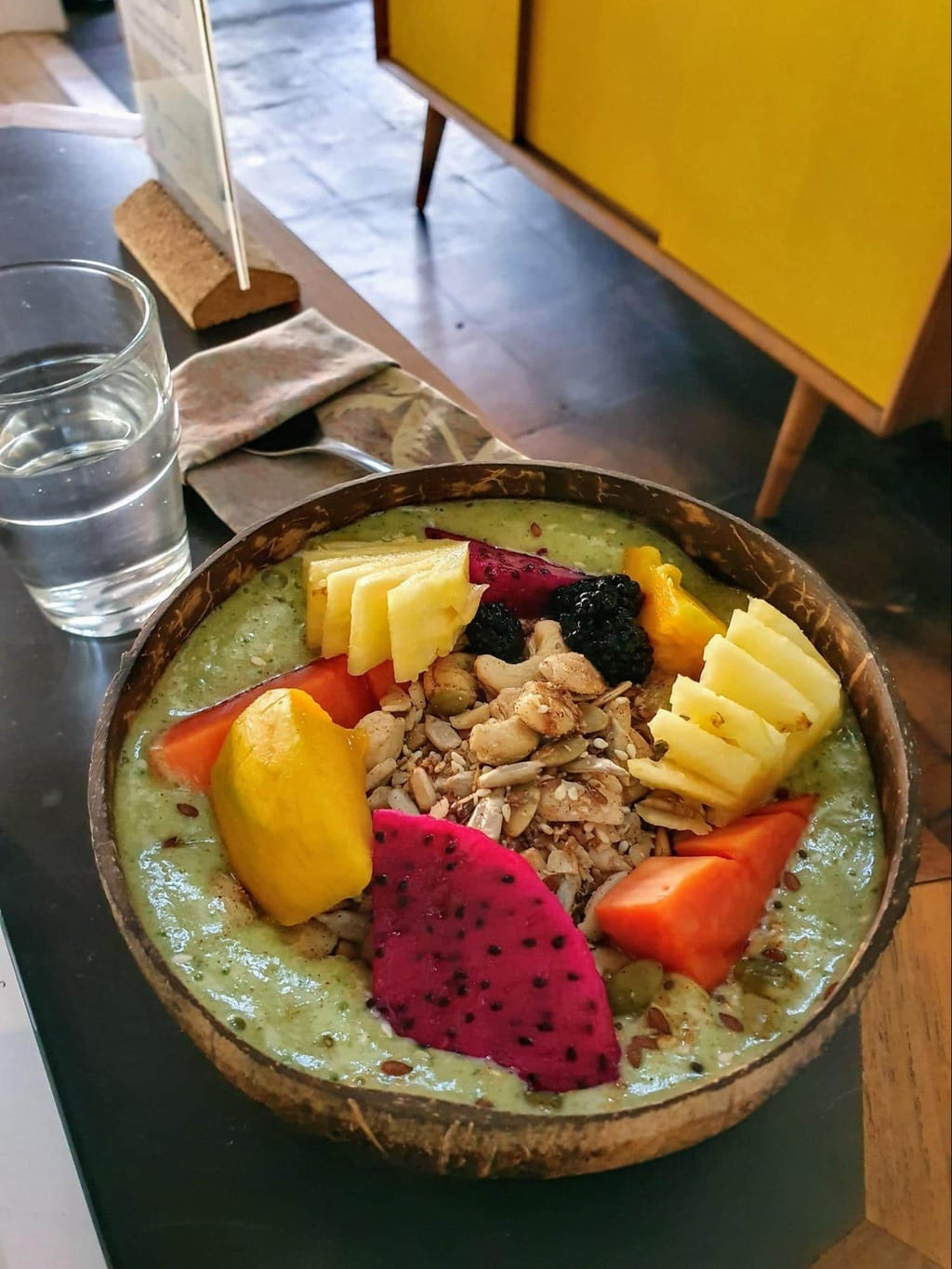 Smoothie bowl at Mother Ubud