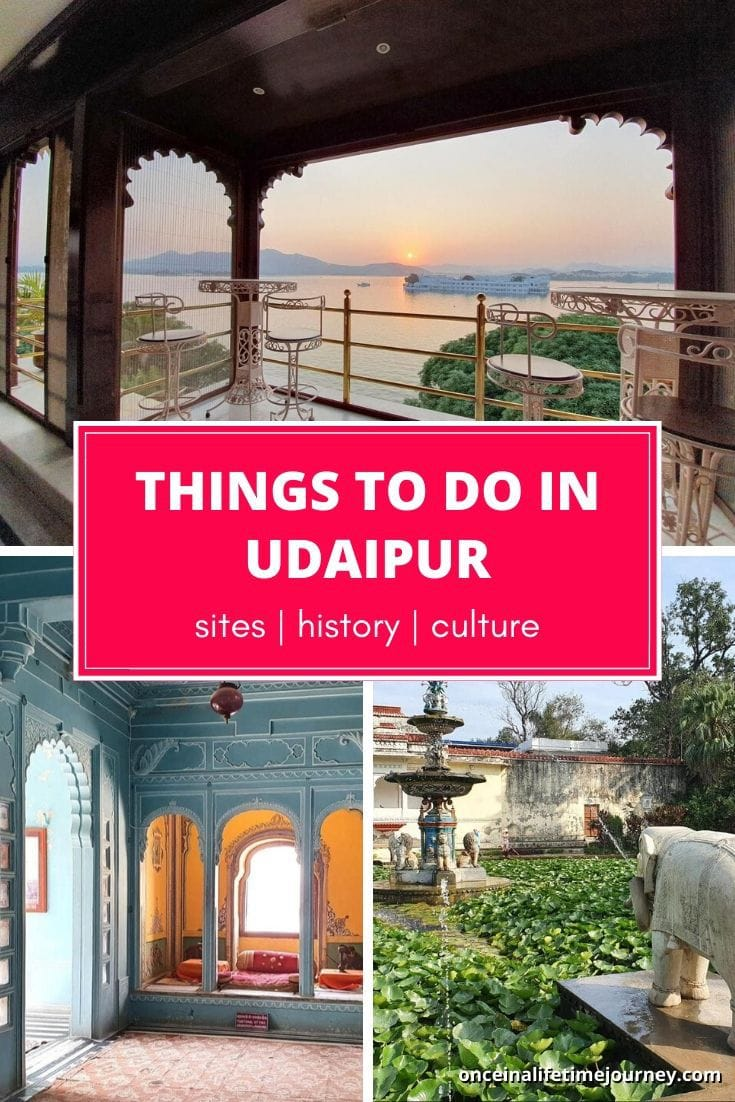 The Best Things to do in Udaipur