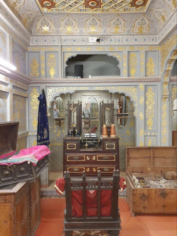 The interiors of Patwon Ki Haveli