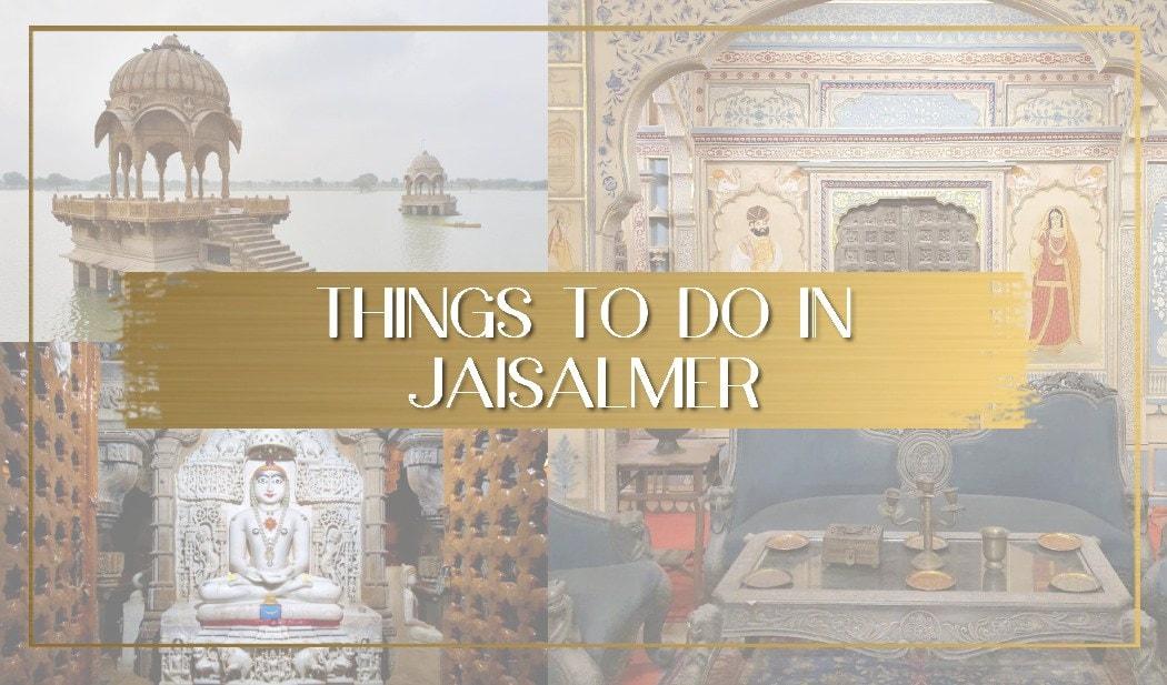 Things to do in Jaiselmar main