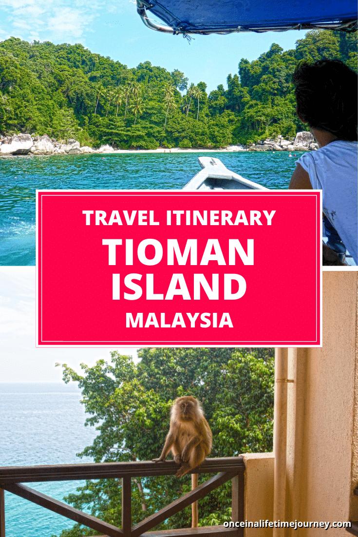 Tioman Island Pin 01
