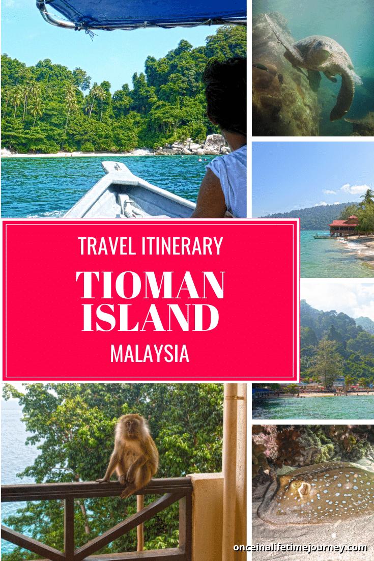 Tioman Island Pin 02