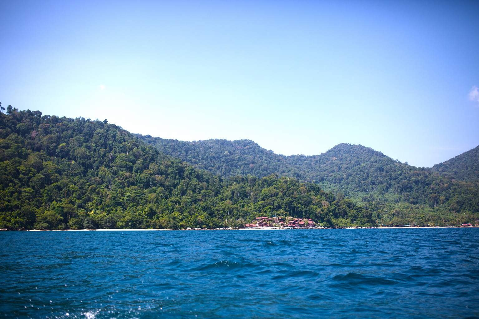 Tioman Island from the water