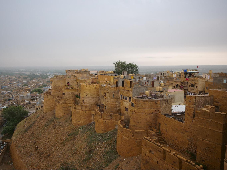 View from Desert Boys Dhani restaurant