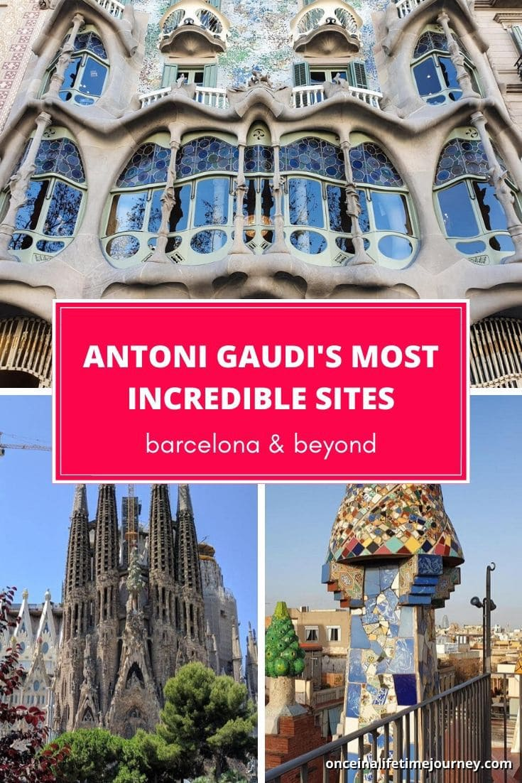 Antoni Gaudi Barcelona - all his best sites