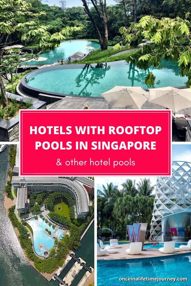 Best Hotels with rooftop pools in Singapore