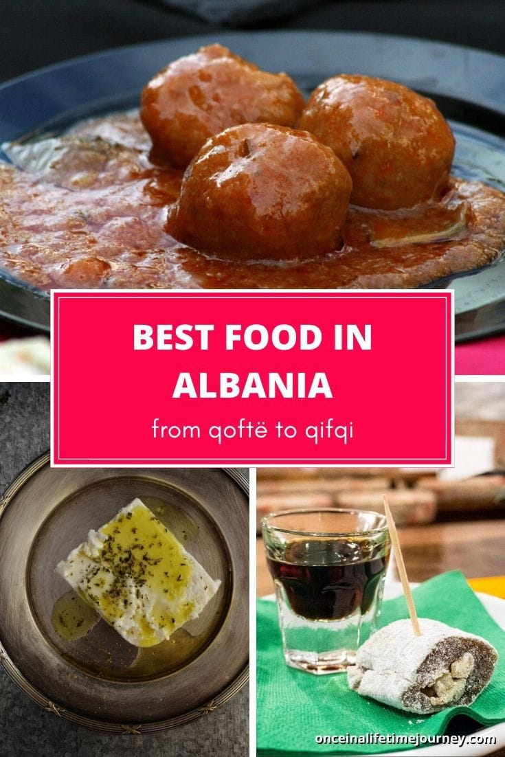 Best food in Albania