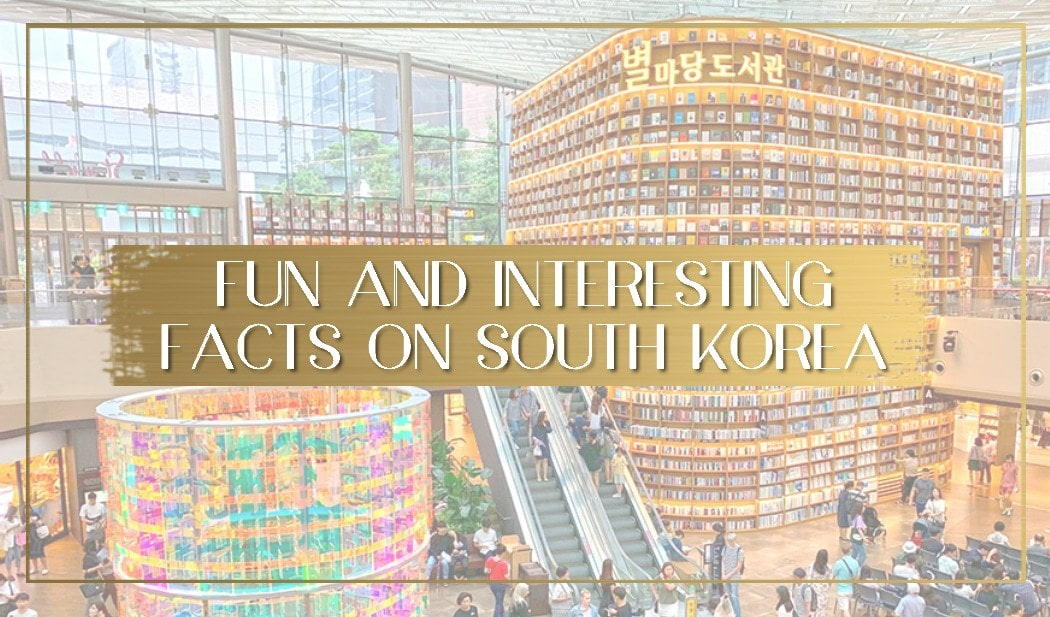 Facts about South Korea main