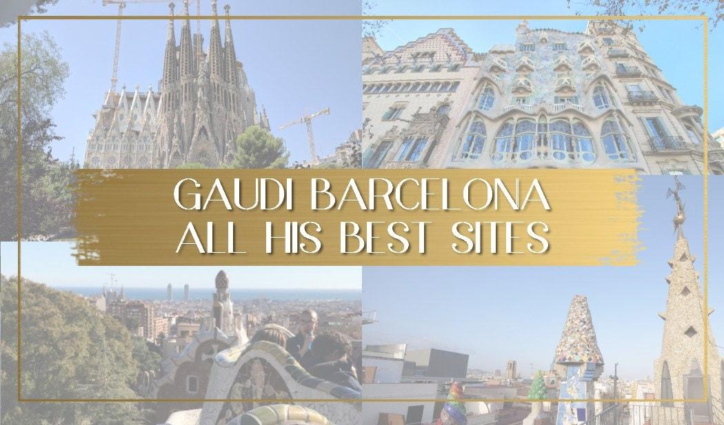 Gaudi Barcelona main