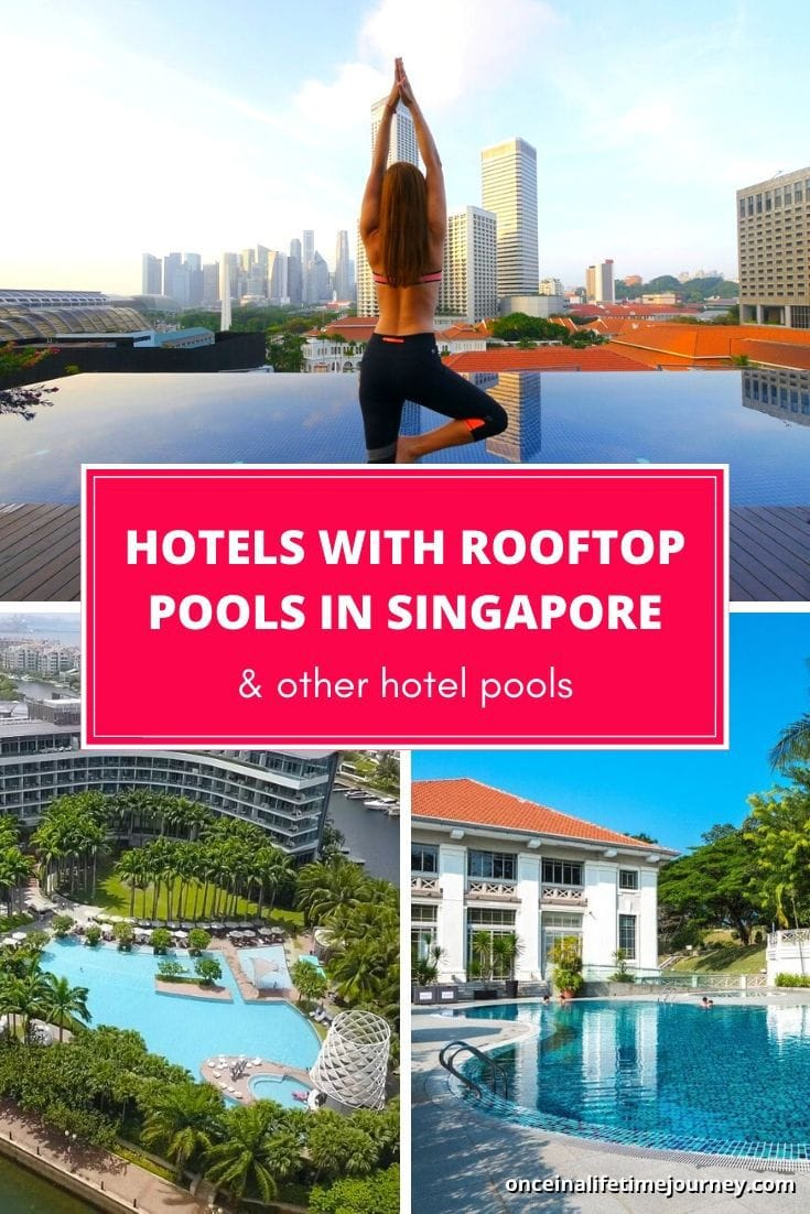Hotels with rooftop pools in Singapore