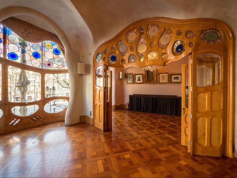 Inside Casa Batllo