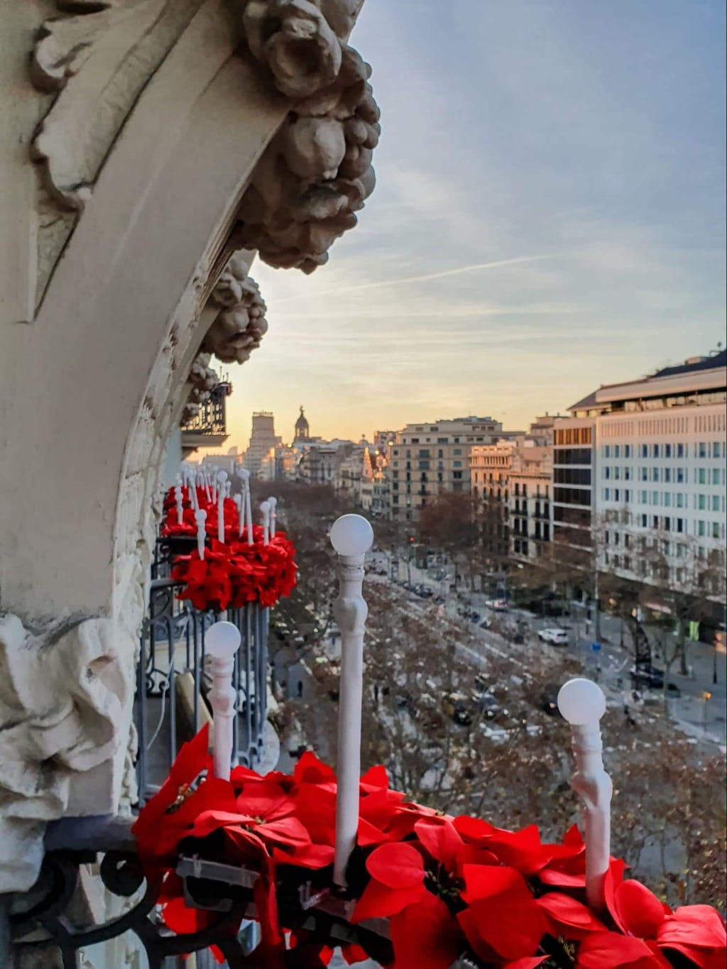 Majestic Hotel & Spa Barcelona Christmas decorations