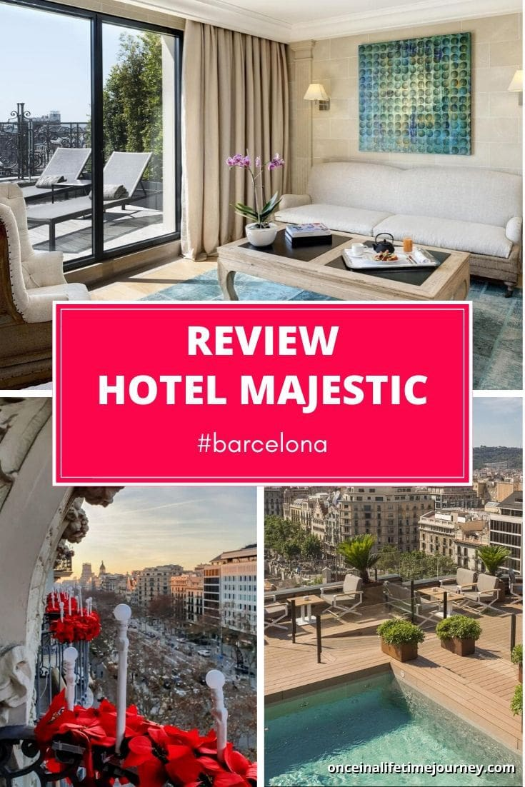 Review of Hotel Majestic in Barcelona