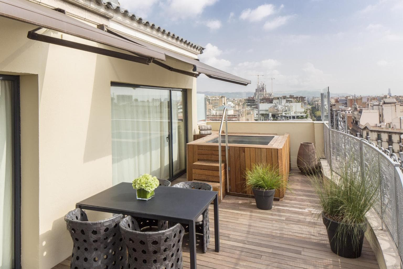 The Penthouse Suites views at Majestic Hotel & Spa Barcelona