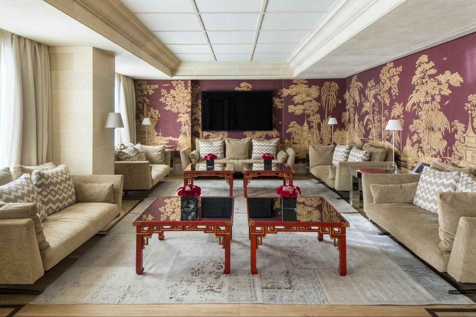 The Royal Majestic Penthouse living room
