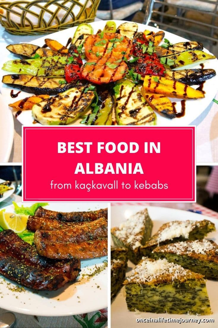 The best food in Albania