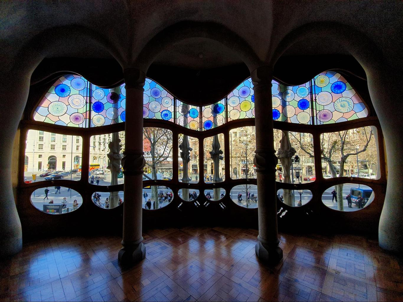 The noble floor of Casa Batllo