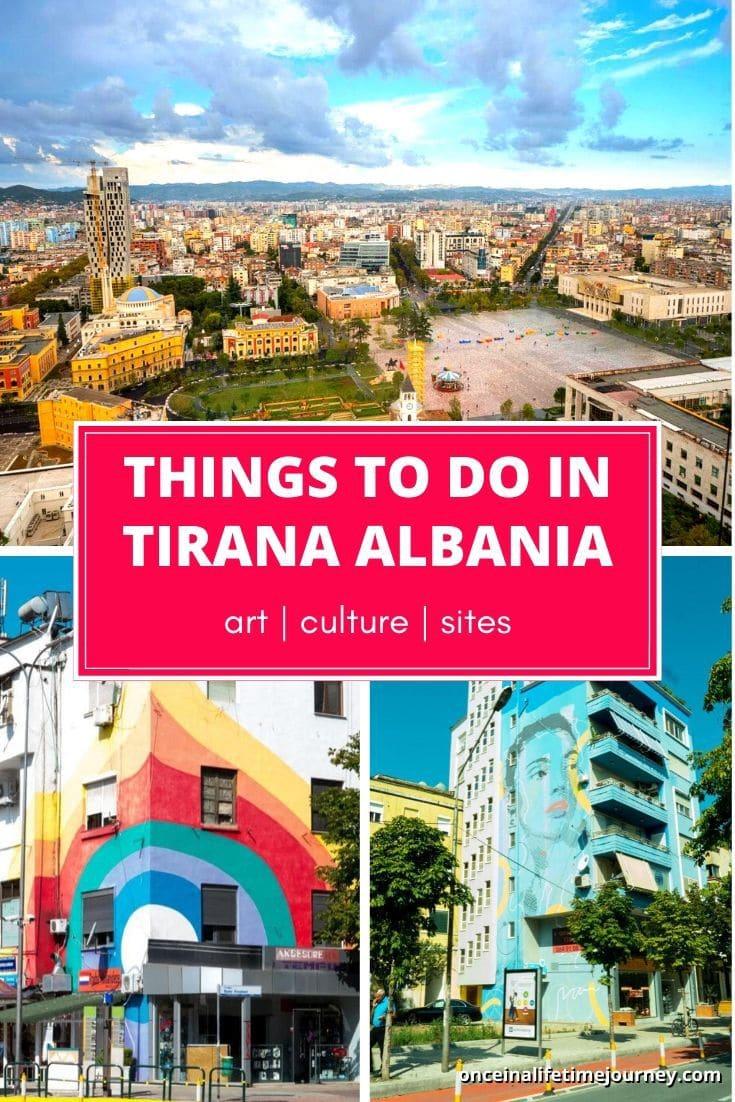 Things to do in Tirana Albania