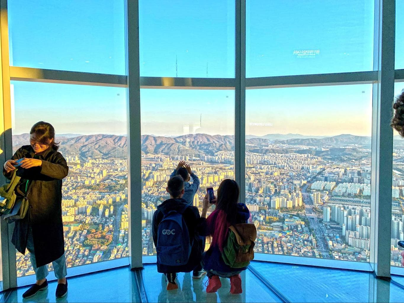 Views from Lotte World Tower