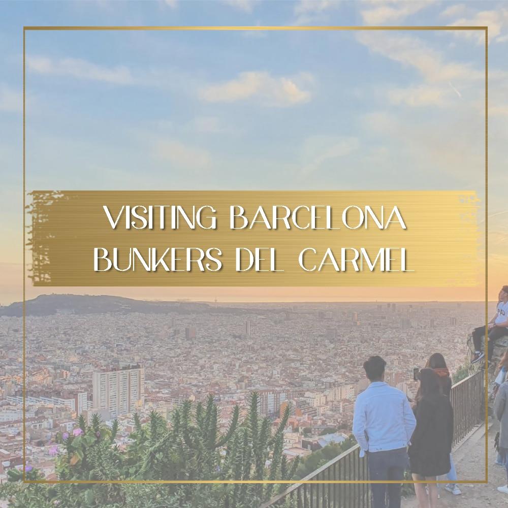 Barcelona Bunkers del Carmel feature