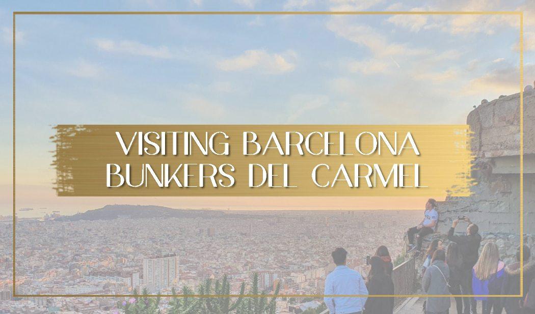 Barcelona Bunkers del Carmel main