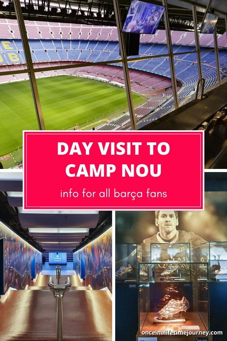 Complete Trip to Cam Nou in Barcelona