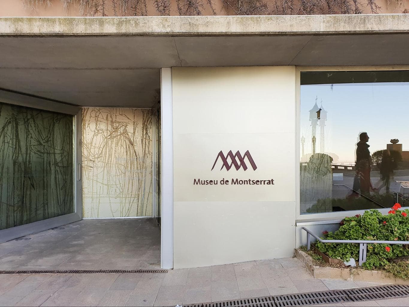 Entrance to the Museum of Montserrat