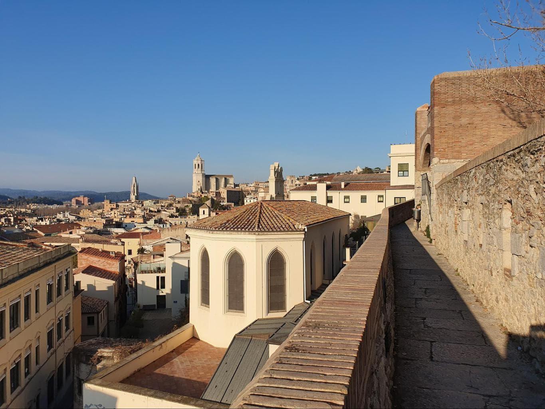 Girona's city walls