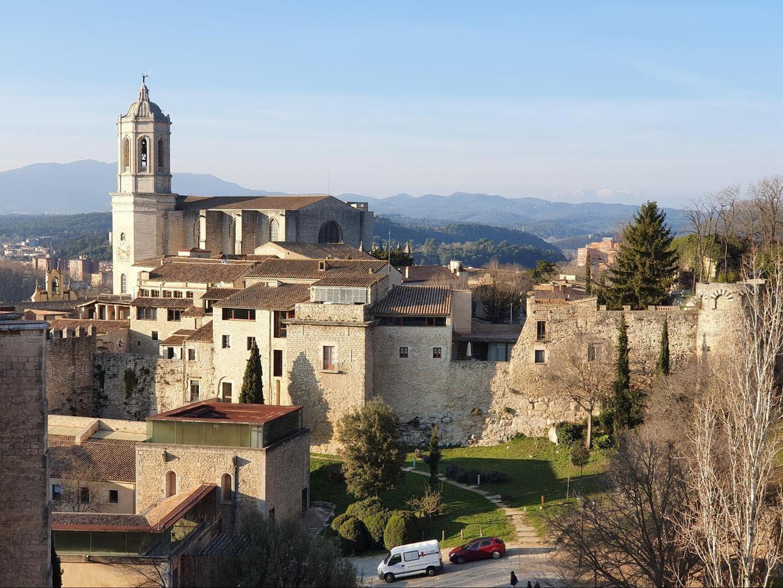 Girona's old city