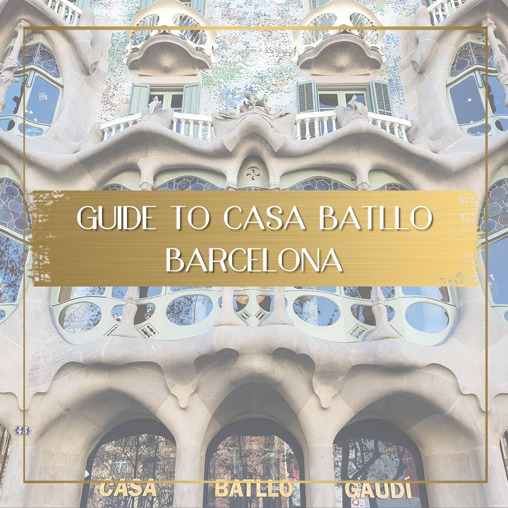 Guide to Casa Batllo Barcelona feature