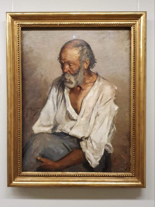 Picasso's painting at Montserrat Museum