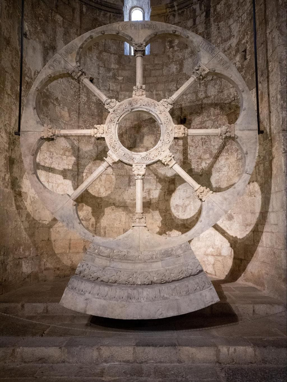 Rose window of Sant Pere de Galligants